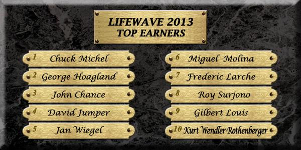 Top Earners 2013
