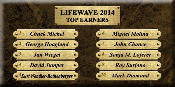 Top Earners 2014